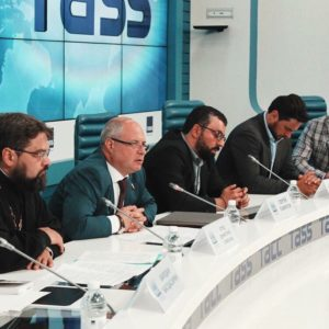 Пресс-конференция в ИТАР ТАСС