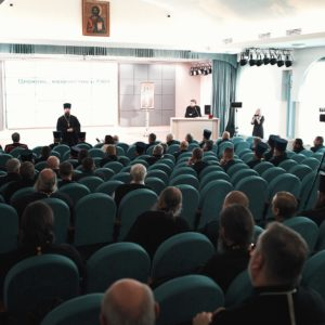 При поддержке Синодального комитета по взаимодействию с казачеством в Коломенской духовной семинарии прошел семинар «Церковь, казачество и СМИ»