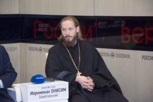 «Достижение безопасности и спокойной жизни христиан на Ближнем Востоке возможно лишь мирным путем», — иеромонах Онисим (Бабмлевский)