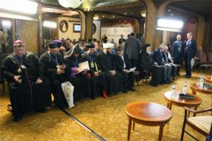 Представители делегаций различных стран выступили с докладами на V Международном Христианском Форуме в Москве
