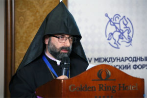 Выступление Главы Дамасской Епархии Армянской Апостольской Церкви в Сирии митрополита Армаша (Налбандян) на V Международном Христианском Форуме