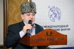 Выступление Председателя Международной Исламской Миссии  Шафига Пшихачева на V Международном Христианском Форуме