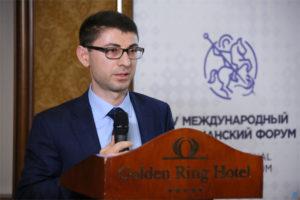 Выступление общественного деятеля Руслана Королева на V Международном Христианском Форуме