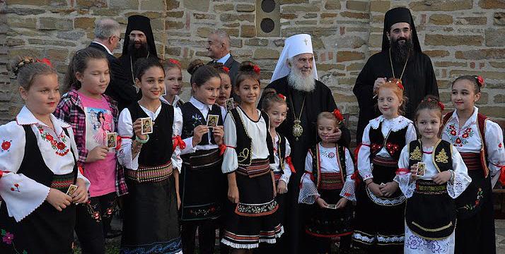 Патриарх Ириней: Реставрация храма в Куршумлии — знак того, что сербский народ возвращается к себе и своим корням