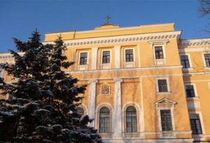 В Санкт-Петербургской Духовной Академии состоялись видеосъёмки очередного эпизода документального фильма «Портрет на фоне эпох. Схиархимандрит Илий (Ноздрин)»